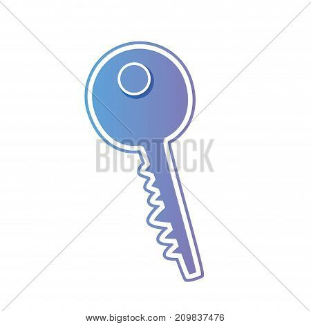 line key metal object icon vector illustration