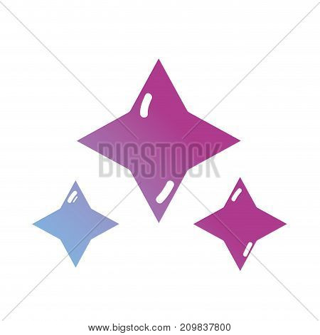 line stars cosmos galaxy in the space vector illustration