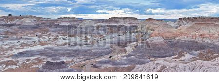 Petrified Forest National Park, Usa.