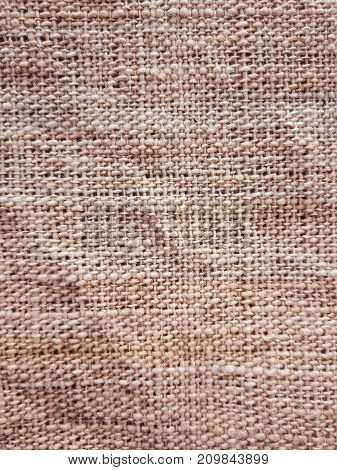 Abstract image of Patterns of sackcloth textured and background.