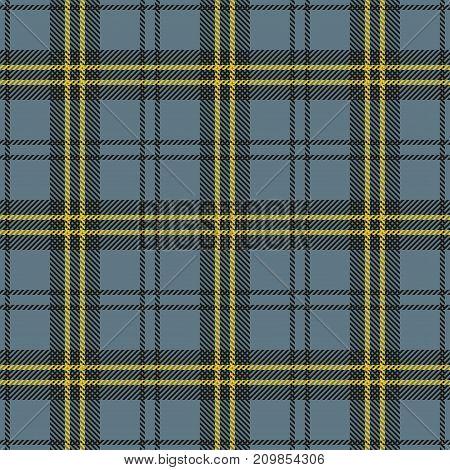 Tartan or plaid pattern. Seamless tartan texture. Vector background.