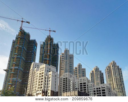 Common Modern Business Skyscrapers