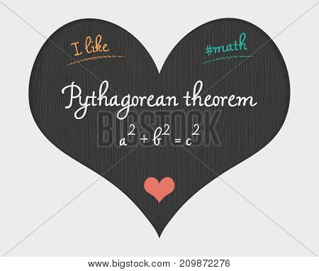 Pythagorean Theorem - I Like Math Illustration