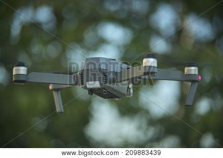 Drone Getting Up In Flight