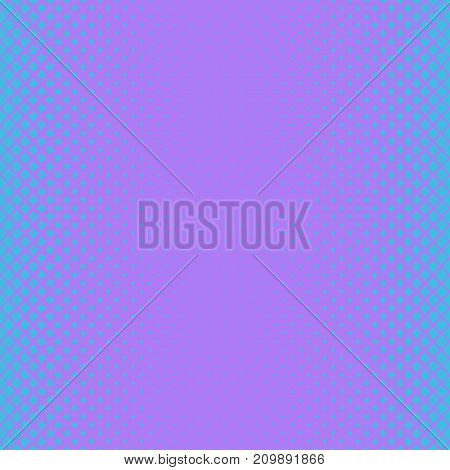 Geometric halftone rounded square pattern background - vector design from diagonal squares in varying sizes