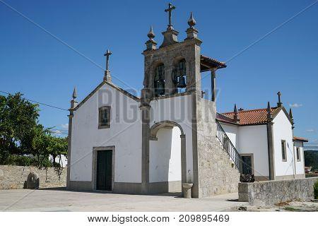 Church of Pedra Furada, Camino de Santiago, Portugal