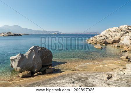 Unusual Rock Formations On The Coast Of Corsica Near Calvi
