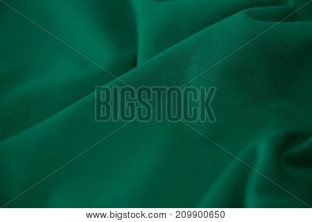 Close-up of green textile