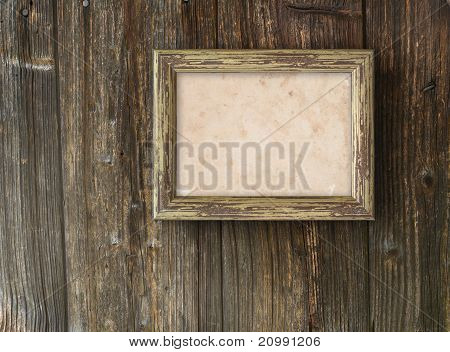 On A Wooden Background