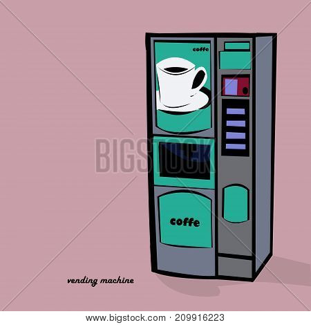 vending machine is an automated machine that provides items such as coffe
