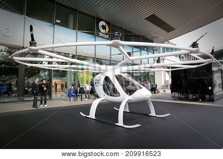 Volocopter Fully Electric Vtol Aircraft