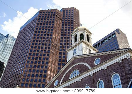 Boston, Faneuil Hall,