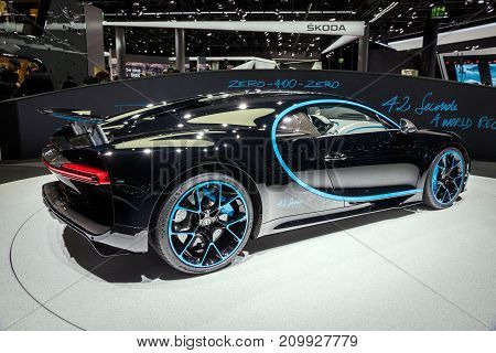 Bugatti Chiron 42 Seconds Edition Sports Car