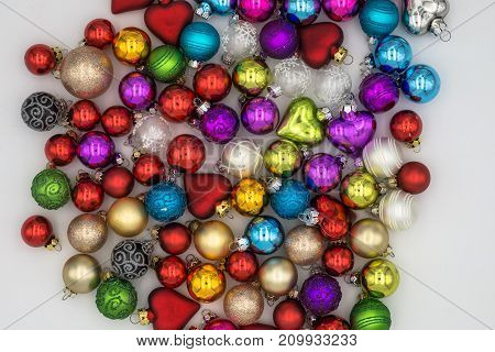 Christmas Background Theme. Multicolored