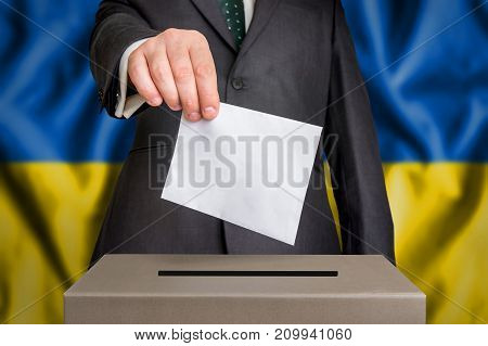 Election In Ukraine - Voting At The Ballot Box
