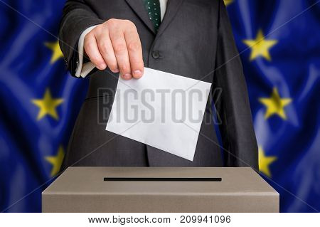 Election In Eu - Voting At The Ballot Box