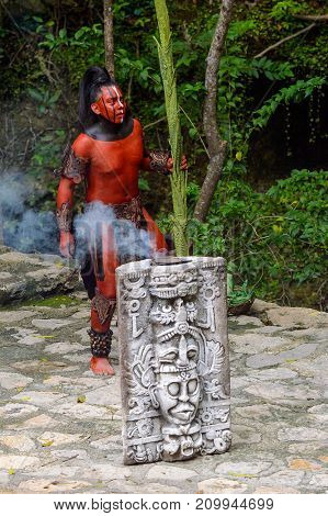 Mayan People In Mexico