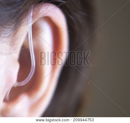 Hearing Aid In Ear