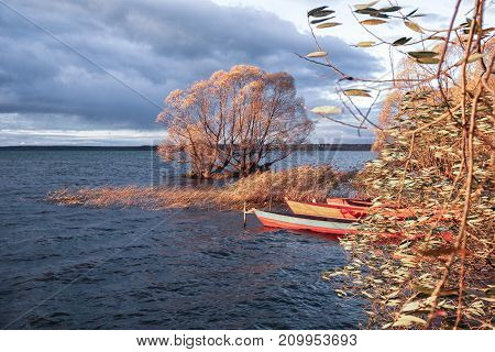 the end of a fishing season - boats will remove on the coast soon