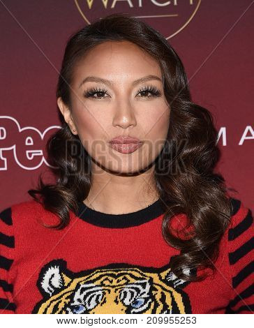 LOS ANGELES - OCT 04:  Jeannie Mai arrives for the People's 'One's To Watch' Event on October 4, 2017 in Hollywood, CA