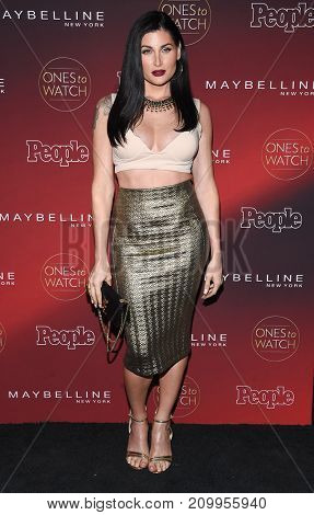 LOS ANGELES - OCT 04:  Trace Lysette arrives for the People's 'One's To Watch' Event on October 4, 2017 in Hollywood, CA
