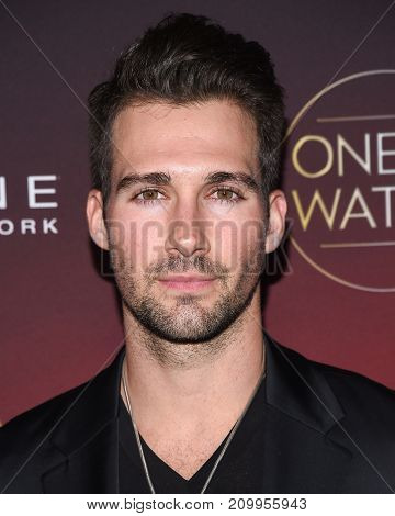 LOS ANGELES - OCT 04:  James Maslow arrives for the People's 'One's To Watch' Event on October 4, 2017 in Hollywood, CA