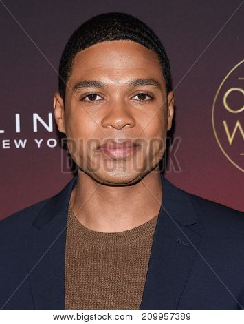 LOS ANGELES - OCT 04:  Ray Fisher arrives for the People's 'One's To Watch' Event on October 4, 2017 in Hollywood, CA