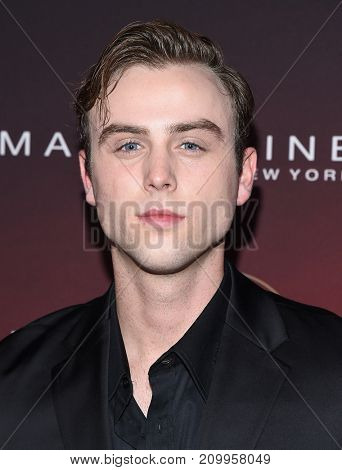 LOS ANGELES - OCT 04:  Sterling Beaumon arrives for the People's 'One's To Watch' Event on October 4, 2017 in Hollywood, CA