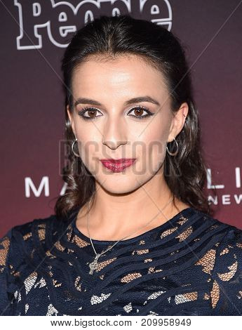 LOS ANGELES - OCT 04:  Victoria Arlen arrives for the People's 'One's To Watch' Event on October 4, 2017 in Hollywood, CA