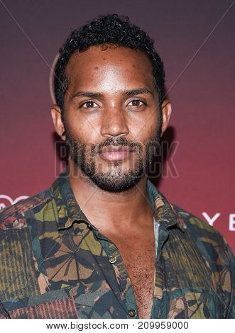 LOS ANGELES - OCT 04:  Sterling Sulieman arrives for the People's 'One's To Watch' Event on October 4, 2017 in Hollywood, CA