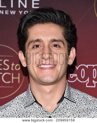 LOS ANGELES - OCT 04:  Wesam Keesh arrives for the People's 'One's To Watch' Event on October 4, 2017 in Hollywood, CA