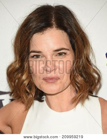 LOS ANGELES - OCT 13:  Betsy Brandt arrives for the Variety's Power of Women Luncheon on October 13, 2017 in Beverly Hills, CA