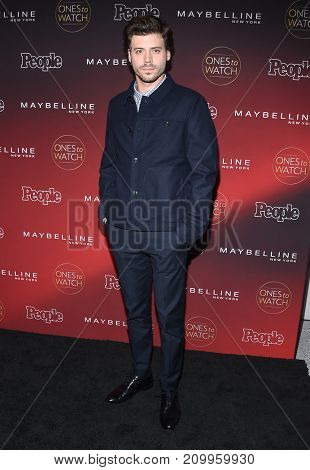 LOS ANGELES - OCT 04:  Francois Arnaud arrives for the People's 'One's To Watch' Event on October 4, 2017 in Hollywood, CA
