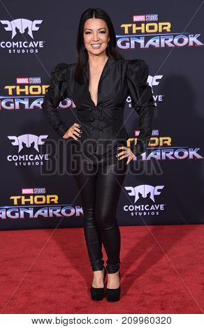 LOS ANGELES - OCT 10:  Ming-Na Wen arrives for the