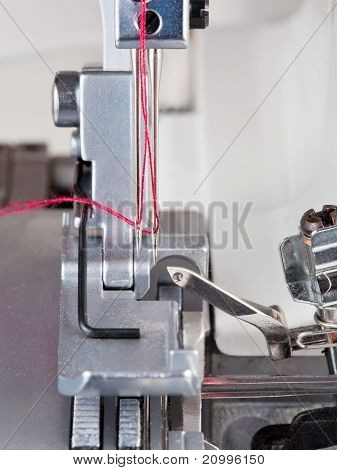 Agujas de acero, máquina de pespunte