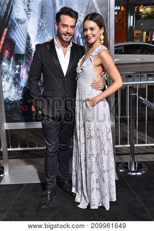 LOS ANGELES - OCT 16:  Juan Pablo Espinosa and Julieth Restrepo arrives for the
