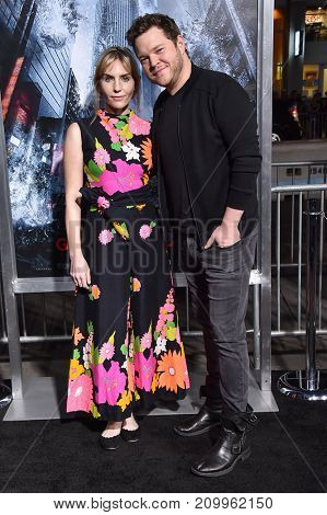 LOS ANGELES - OCT 16:  Harry Ford and Aleque Reid arrives for the