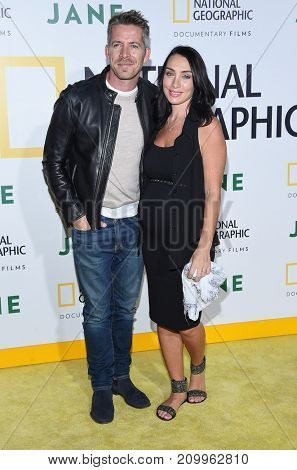 LOS ANGELES - OCT 09:  Sean Maguire arrives for the 'Jane' Los Angeles Premiere on October  9, 2017 in Hollywood, CA
