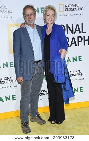 LOS ANGELES - OCT 09:  Jean Smart and Richard Gilliland arrives for the 'Jane' Los Angeles Premiere on October  9, 2017 in Hollywood, CA