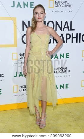 LOS ANGELES - OCT 09:  Kate Bosworth arrives for the 'Jane' Los Angeles Premiere on October  9, 2017 in Hollywood, CA
