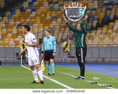 Uefa Europa League: Fc Dynamo Kyiv V Young Boys