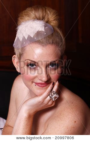 Blond bride