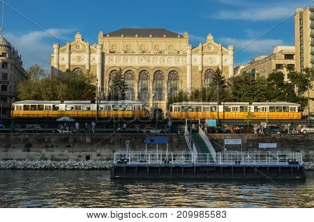 Embankment of the Danube River, Budapest, Hungary