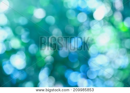 Green Background Blur And Bright