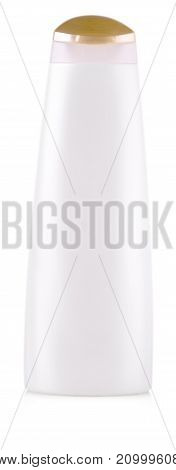 jar for cosmetic cream gel or powder isolated on white background