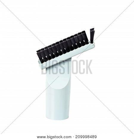 Vacuum brush head on white background isolate