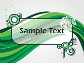 abstract background with place for text poster