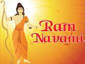 white rays, curve background, abstract illustration for ram navami poster