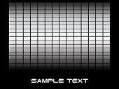 abstract vector background with sample text poster