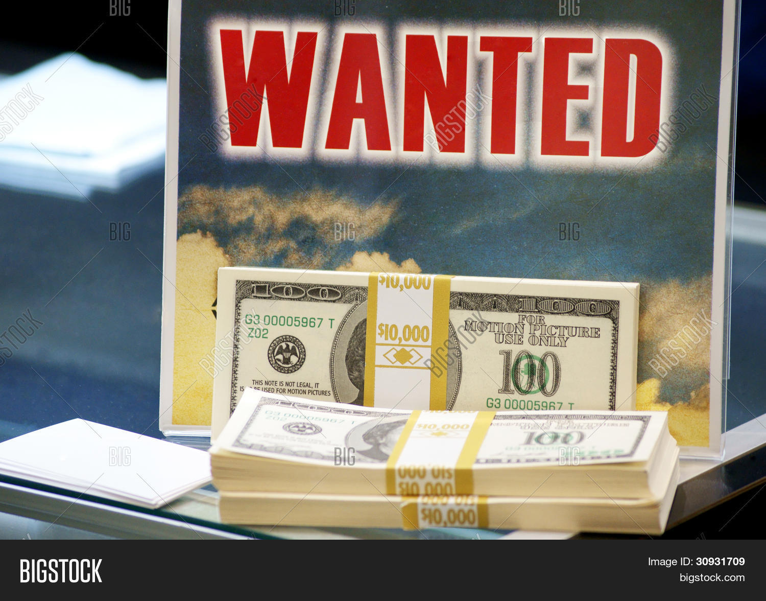 Wanted - Money Image & Photo (Free Trial) | Bigstock